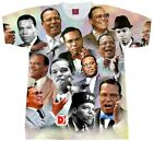 Minister Farrakhan T-Shirt.... Collage. Adult and Youth Sizes . Louis Farrakhan  image