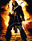 JOHNNY DEPP (PIRATES OF THE CARIBBEAN) SIGNED FOTO PRINT 02