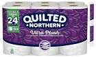 Quilted Northern Ultra Plush Bath Tissue 24,48,96 Double Rolls Toilet Paper NEW