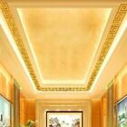 Great 10* Modern Acrylic Sticker Mirror Tile Wall Decal Homes Top Ceiling Gold