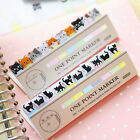 Pretty Memo Pads Cartoon Black Cat Pink Heart Office School Supplies Stationery