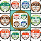 2 x 1963 to 1978 Period Replica Reproduction Vintage Road Tax Discs1 plus1 spare
