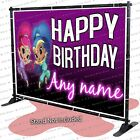 Shimmer and Shine Custom Birthday Banner Party Backdrop Decoration kid