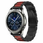 22 Stainless Steel Watch Strap For Samsung Galaxy Watch 46mm S3 LG Urbane Fossil