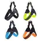 Pet Power Harness Strong Mesh Leather Adjustable Reflective Dog Puppy Harnesses