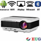 Android Bluetooth LED Projector Video Home Theater HDMI USB Miracast Movie Games