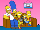 the simpsons family canvas wall art Wood Framed Ready to Hang XXL