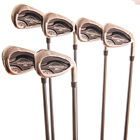 Callaway Steelhead XR Iron Set 6-PW,AW Matrix Ozik 60 R-Flex Graphite RH