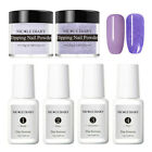 6Pcs/Set NICOLE DIARY Dipping Powder Glitter Dip Liquid Nail Art Pro Starter Kit