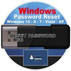 BEST Password Recovery Reset 2019 on USB or CD for Windows 10 8.1, 8 7 Vista, XP