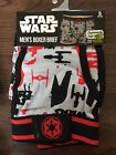 Star Wars Men's Boxer Brief Gray/Red Sizes S, L and XL $4.99 USD on eBay