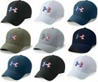 Under Armour Men's UA Freedom Blitzing Golf Cap Stretch Flex Fit Hat USA 1311427
