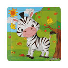 NEW Wooden Animals Puzzle Jigsaw Early Learning Baby Kids Educational Toy Gifts