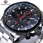 FORSINING Mens Sports Watch Classic Mechanical Automatic Calendar Wristwatch 428 <br/> ❤ Ship with TRACKING Number ❤ 3 Dials ❤ 100% ORGINAL ❤