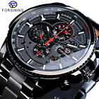 FORSINING Mens Sports Watch Classic Mechanical Automatic Calendar Wristwatch 428 image