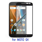 For Motorola Moto G4 Coverage FULL COVER 9H Real Tempered Glass Screen Protector