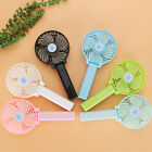 Mini Portable Hand-held Small Folding Desk Fan Cooler Cooling USB Rechargeable