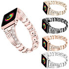 US For Apple Watch Series 4 3 2 1 38/42MM women Bling Bracelet iWatch Band Strap image