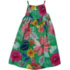 Girls Floral  Print Summer Sun Strappy Dress Top UK Store Next Day