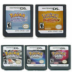 5x Pokemon Nintendo DS Games HeartGold SoulSilver Platinum Pearl Diamond USA