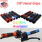 "Motorcycle 7/8"" Hand Grips Throttle Handlebar CNC Gel For Yamaha R1 Honda CBR600 $12.55 USD on eBay"
