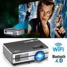 Smart Android Projector Bluetooth Home Theater HDMI USB Miracast Airplay Movie