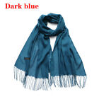 Women Fashion Pashmina Faur Plaid  Long Wrap Shawl  Cashmere Scarf  Knit Scarf