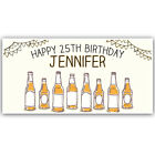Birthday Beer Custom Banner