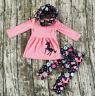 Kyпить US Toddler Baby Girls Clothes Long Sleeve Tops Dress Floral Pants Outfits 2-7T на еВаy.соm