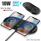 For Samsung S10+/e S8/S9 Note 10 Plus Fast Wireless Charger 10W Charging Pad Mat