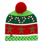 F0C7 LED Light Led Cap Winter Cap Protective Gifts Christmas Hat