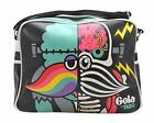 'Gola Tub381 Redford Xray Messenger/shoulder Black/multi Bag