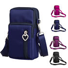 US STOCK Cross-Body Cell Phone Shoulder Strap Wallet Pouch Bag Purse S/L Size image