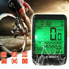 LCD Digital Cycle Computer Bicycle Bike Backlight Speedometer Odometer Cycling