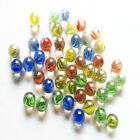 Lot 20/50pcs 14mm Glass Beads Marbles Kid Toy Fish Tank Decorate