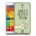 HEAD CASE DESIGNS DOSES NONSENSE GEL CASE FOR SAMSUNG PHONES 2