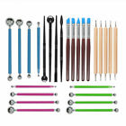 Ceramic Art Clay Sculpting Tools Set Plastic Pottery Carve Rubber Clay Modelling image