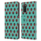 HEAD CASE DESIGNS BUGGED LIFE LEATHER BOOK CASE FOR SAMSUNG PHONES 1