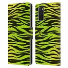 HEAD CASE DESIGNS MAD PRINTS LEATHER BOOK WALLET CASE FOR SAMSUNG PHONES 1