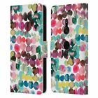 OFFICIAL NINOLA WATERCOLOUR LEATHER BOOK WALLET CASE FOR SONY PHONES 1