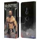 OFFICIAL WWE DREW MCINTYRE LEATHER BOOK WALLET CASE FOR SONY PHONES 1