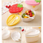 Cartoon Shape Strawberry Lunch Box Food Container Storage Box Portable Bento Box