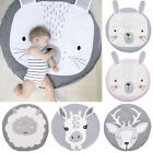 Cute Soft Cotton Baby Game Play Mat Gym Activity Pad Crawling Blanket Floor Rug for sale  Shipping to South Africa