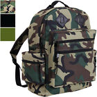 Camo Day Pack Water Resistant Military Backpack Travel School Book Bag Knapsack