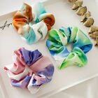 Elastic Colorful Tie-dye Hair Rope Hair Ring Scrunchies Ponytail Hair Accessory