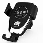 Automatic Clamping Wireless Car Charging Charger Mount Air Vent Phone Holder 10W