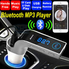 G7 Bluetooth Wireless Car FM Transmitter Radio Adapter MP3 Player Kit Chargers