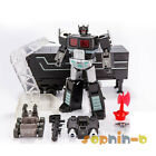 Transformed Optimus Prime Black Convoy with Trailer MPP10 MP10 DX9 DF04 Figure