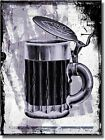Vintage Beer Iron Stein Mug Picture on Stretched Canvas, Wall Art Décor, Ready t