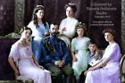 New Colorized Photo Poster: Last Russian Tsar Nicholas II & Family -- Six Sizes!